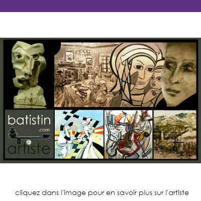 Batistin Artiste peintre Auteur