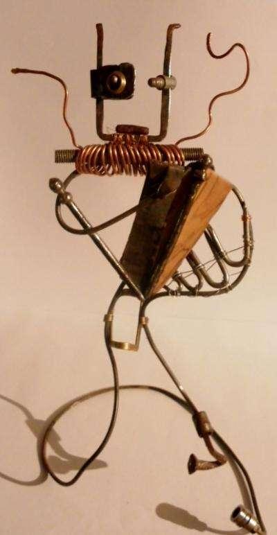 Sculpture Le Musicien