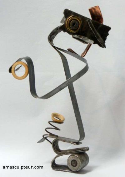 Sculpture Picoiso par Ama