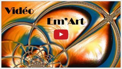 Em'Art : un rapide visionnage de mon travail numérique