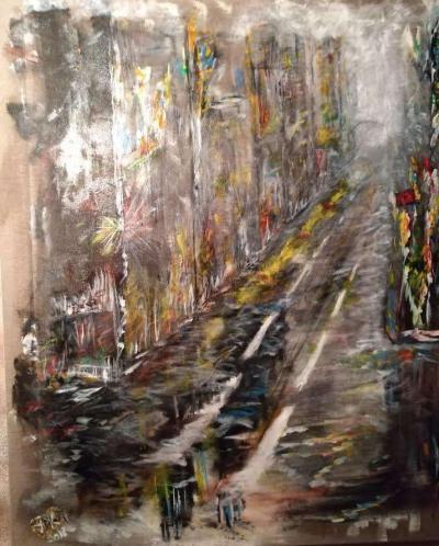 "Tableau ""Urban Street"""