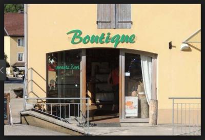Une boutique sympa à la frontière franco-suisse