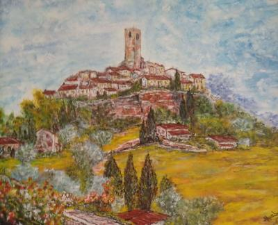 "Tableau ""Saint Paul de Vence"""