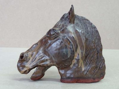 Sculpture cheval 1 par Anne-Marie VINCENT