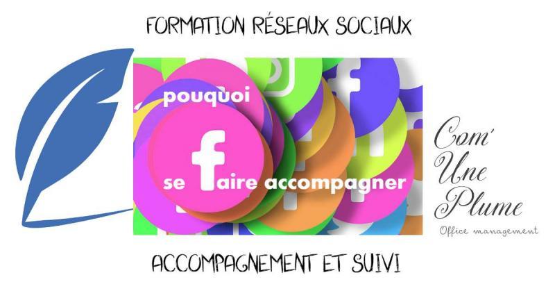 Formation aux réseaux sociaux, accompagnement et suivi. Article à lire !