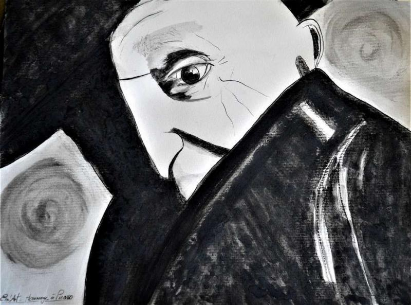 Hommage à Picasso par Em'Art - Emmanuelle Baudry