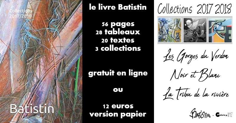 Le livre d'art de Batistin