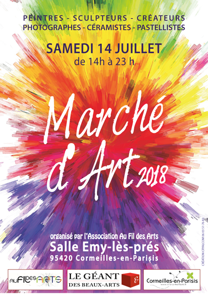 Marché de l'art à Cormeilles en Parisis (95)