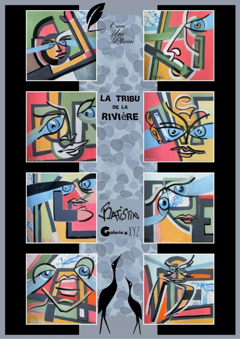Poster La tribu de la Rivière par Batistin