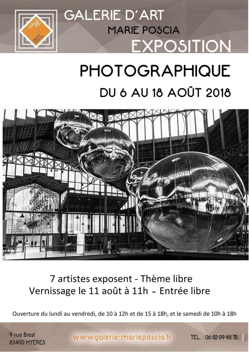 7 photographes à la Galerie d'art Marie Poscia