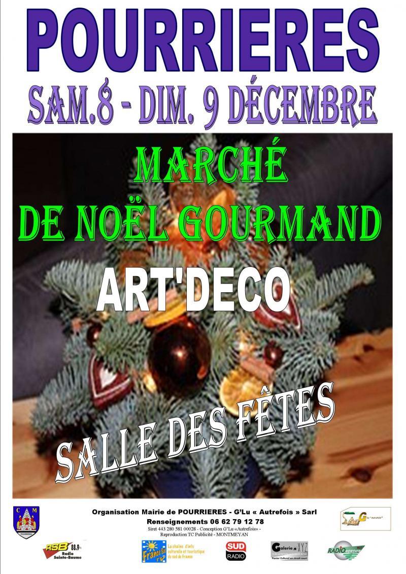 MARCHE CALENDAL GOURMAND ET ART DECO