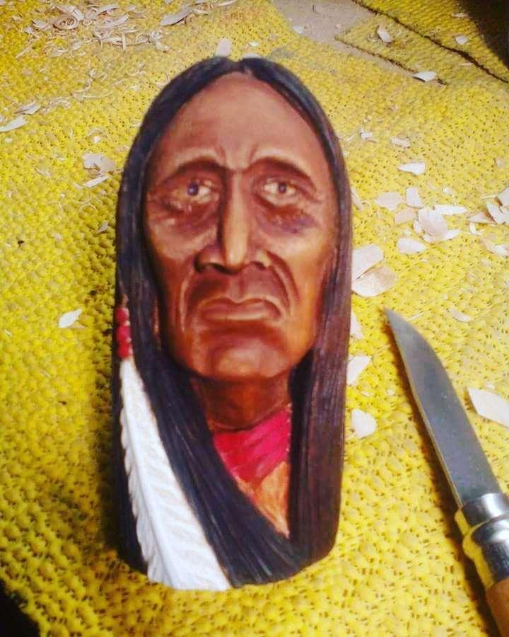 Tête d'indien I