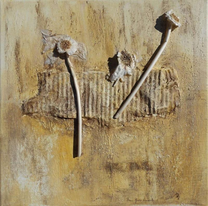 Fleurs de rocailles par Anne-Marie VINCENT