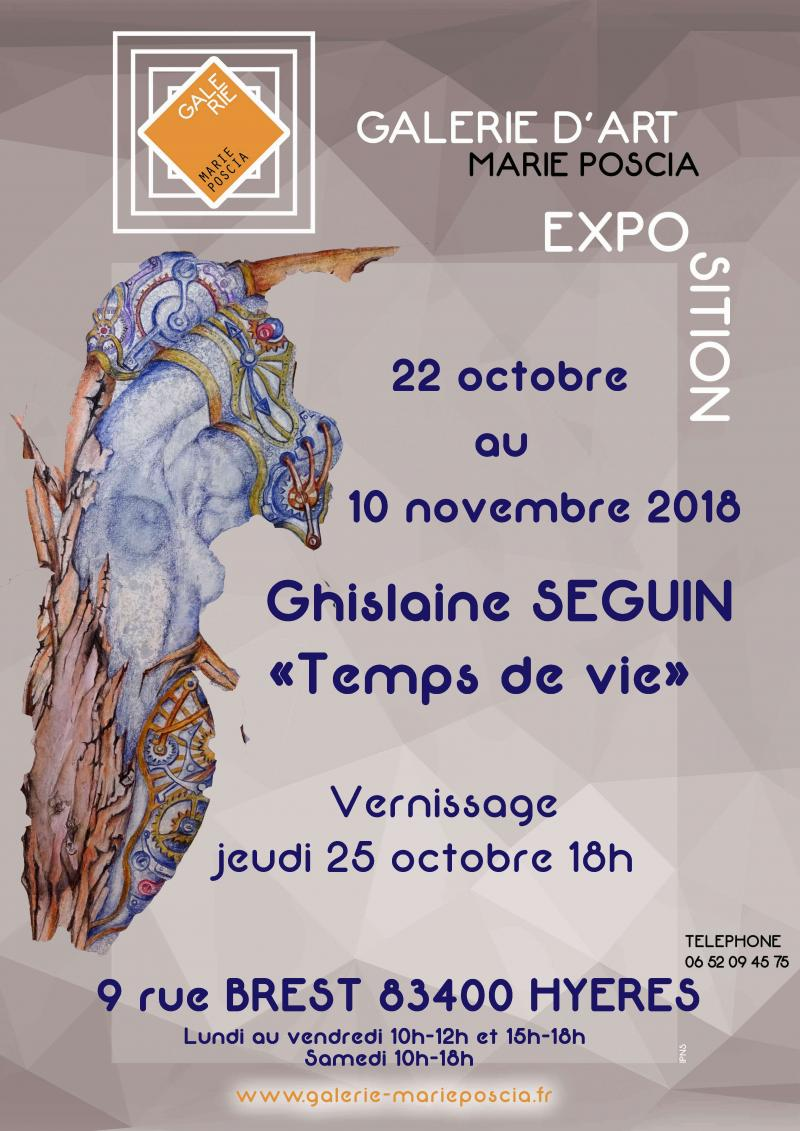 """Temps de vie"" Ghislaine Blanche SEGUIN  (83)"