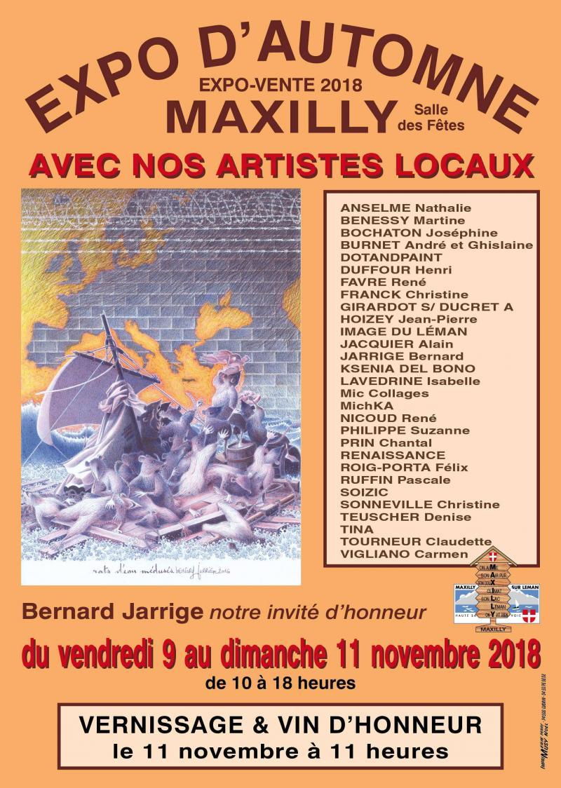 Expo d'Automne à Maxilly-sur-Léman 74500