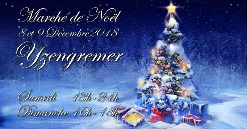 Marché de Noël en présence de Martine Blanchart (80)