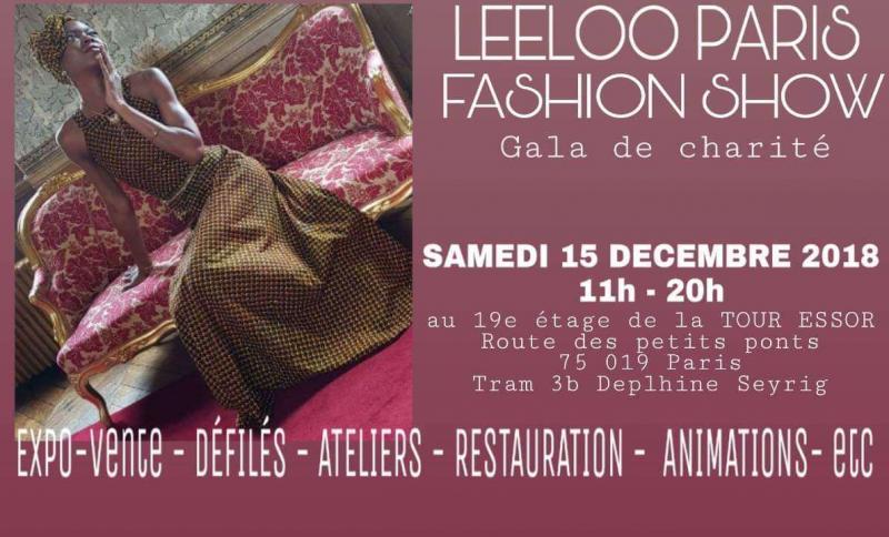 Exposition Fashion show - Gala de charité (75)