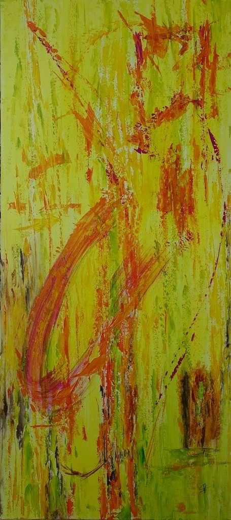 """Titre: """"Acrobaties"""" par Anne-Marie VINCENT"""