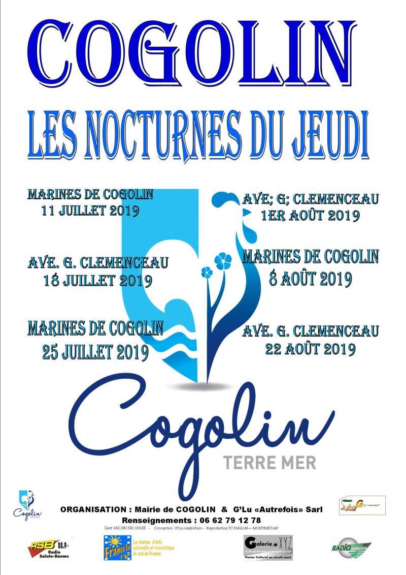NOCTURNES DE COGOLIN (83)