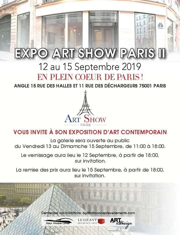 EXPOSITION ART SHOW PARIS II