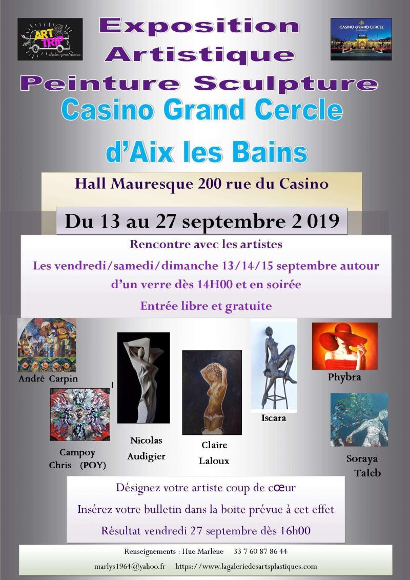Exposition multi artistes vernissage rencontre artistique (dpt 73)