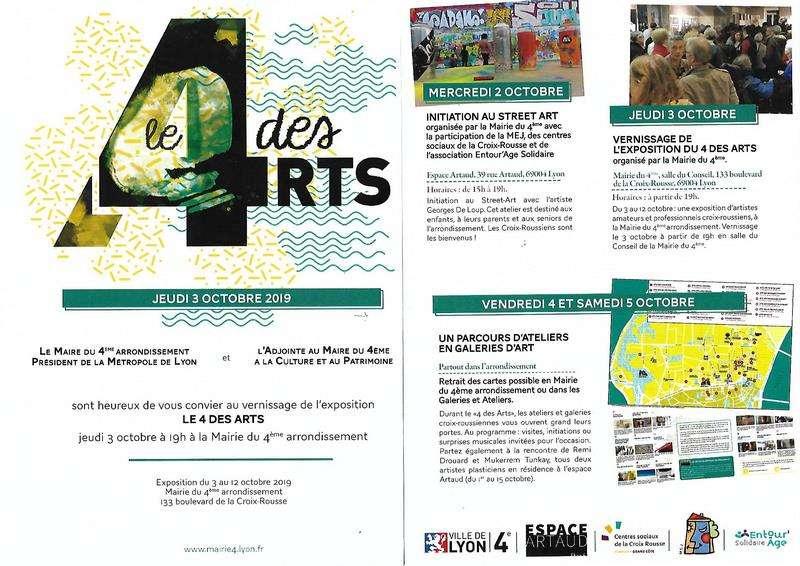 4 des arts Parcours des ateliers (dpt 69)