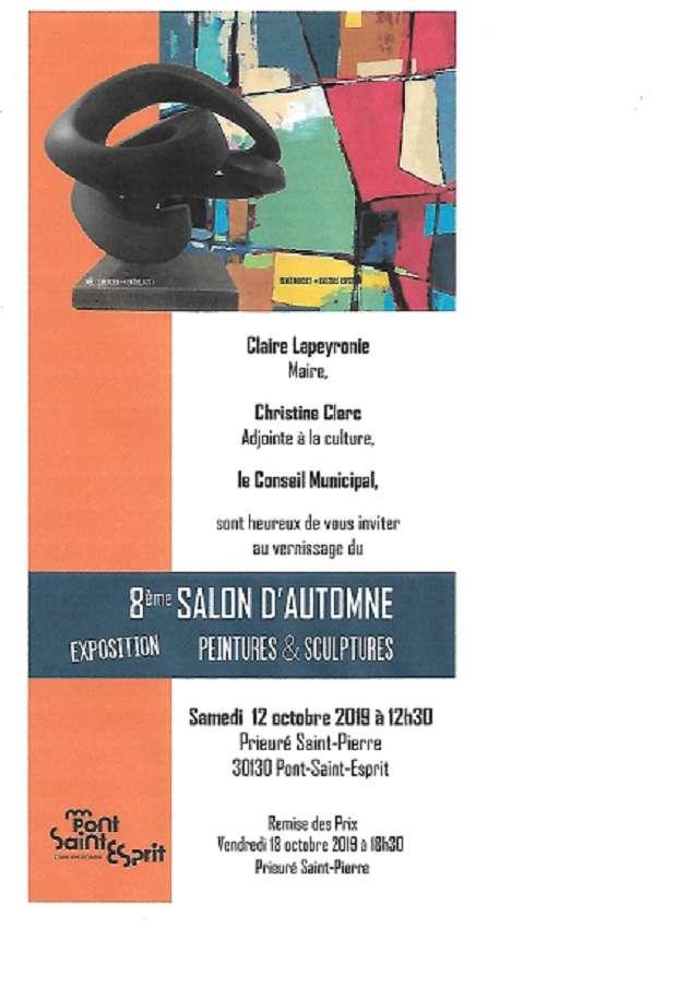 salon d'AUTOMNE au Prieuré St Pierre (dpt 30)