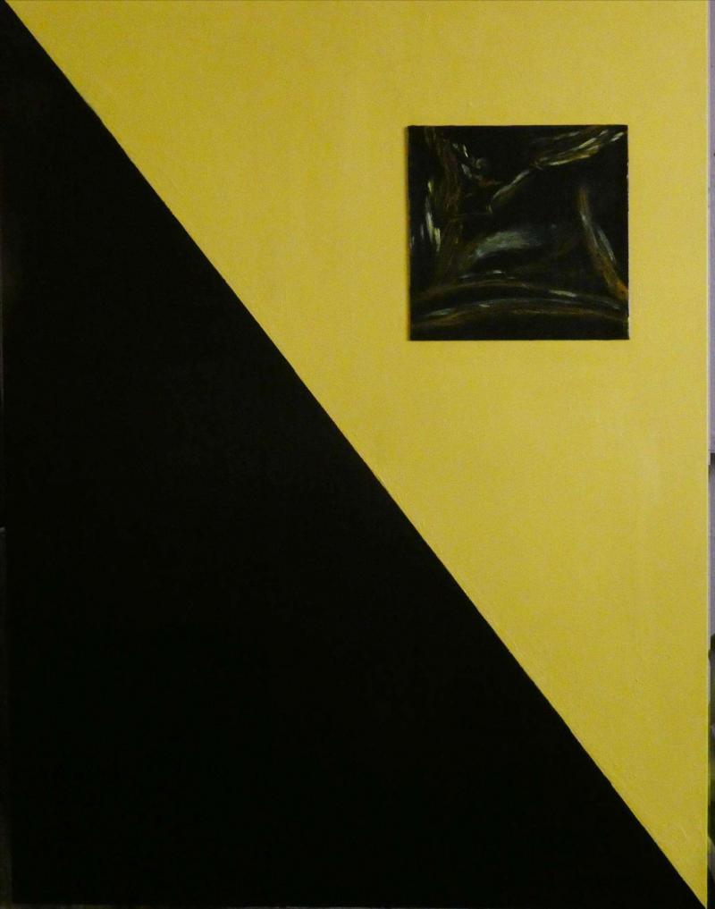 """lilith peinture """"La diagonale du fou"""""""