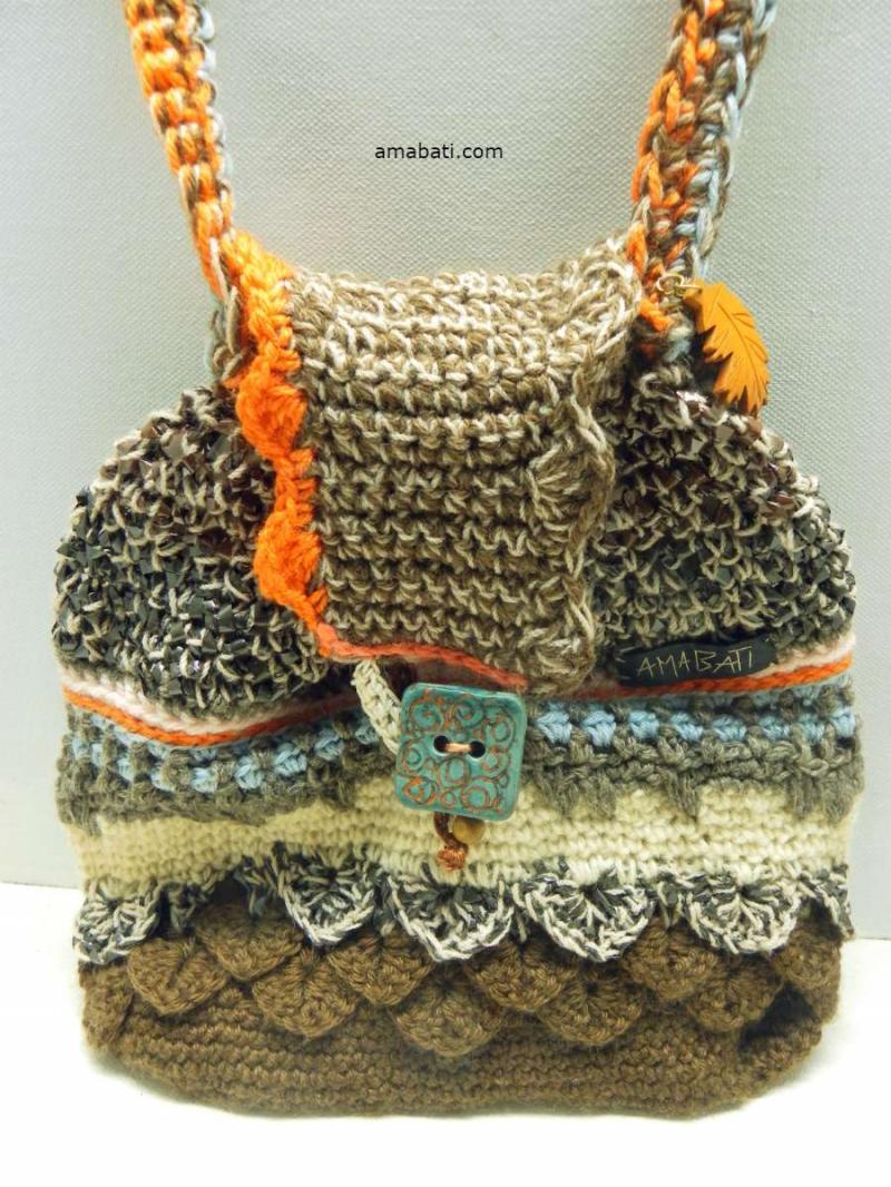 Sac en laine et bandes magnétiques par Amabati