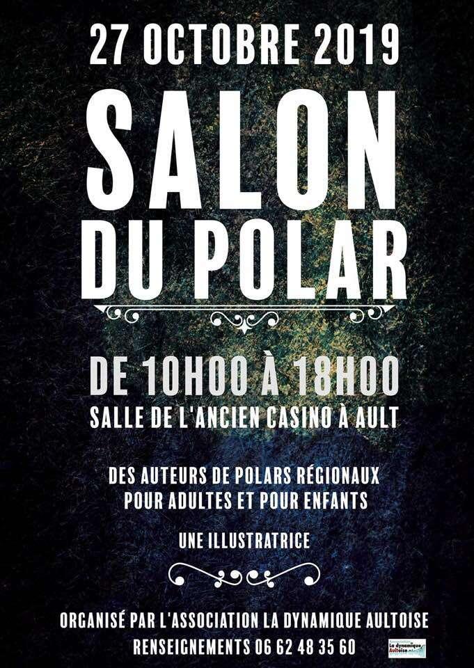 Salon du Polar en présence de Martine Blanchart (80)