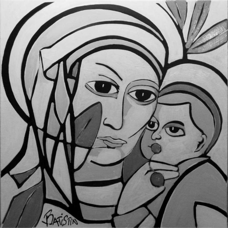La Vierge à la Cerise par Batistin