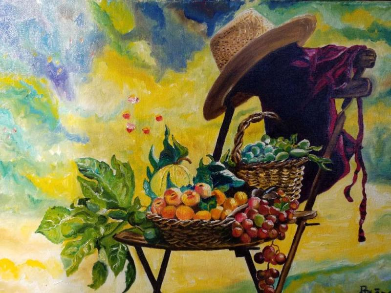 Retour du jardin par Pedro Paone