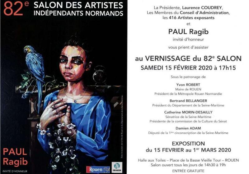exposition à Rouen