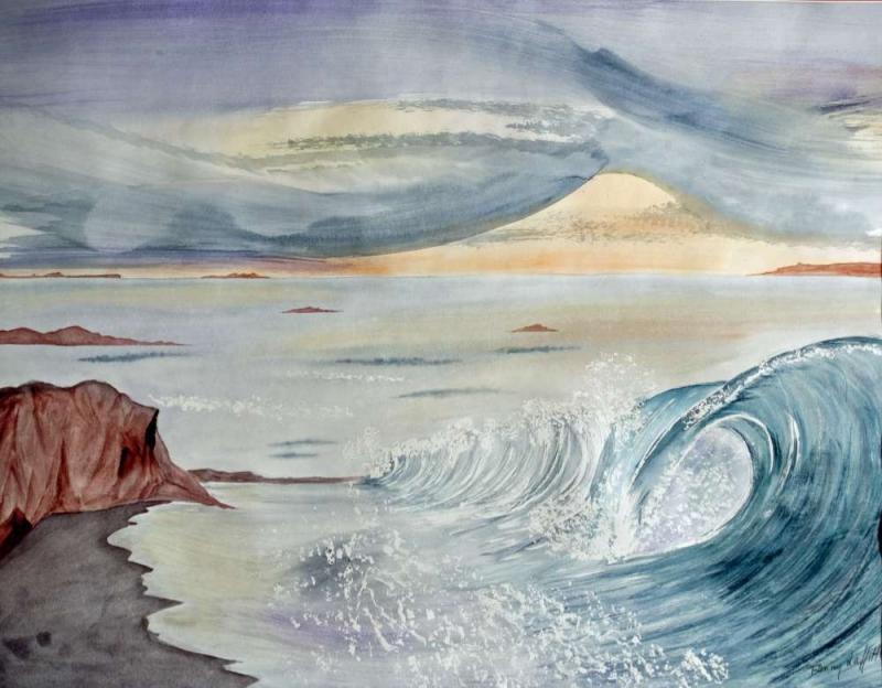 TUMULTUEUSE , eau merveilleuse... par Fanny Laffitte