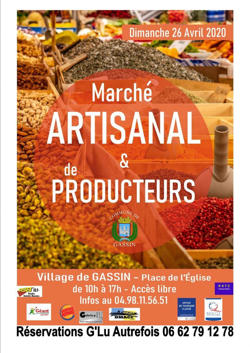 marché artisanal et producteur (dpt 83)