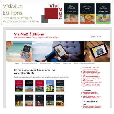 VisiMuz éditions livres d'art numériques