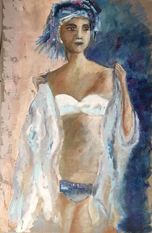 la femme au drapé