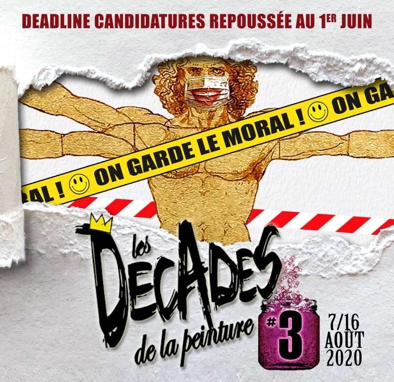 Appel à candidature festival les Décades de la peinture