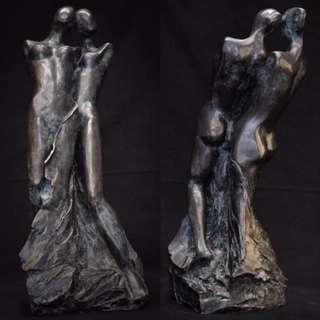 Sculpture par Dan Chavret