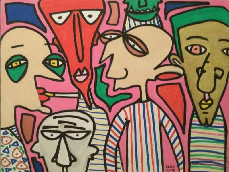 Pink attention par Brice Lesage