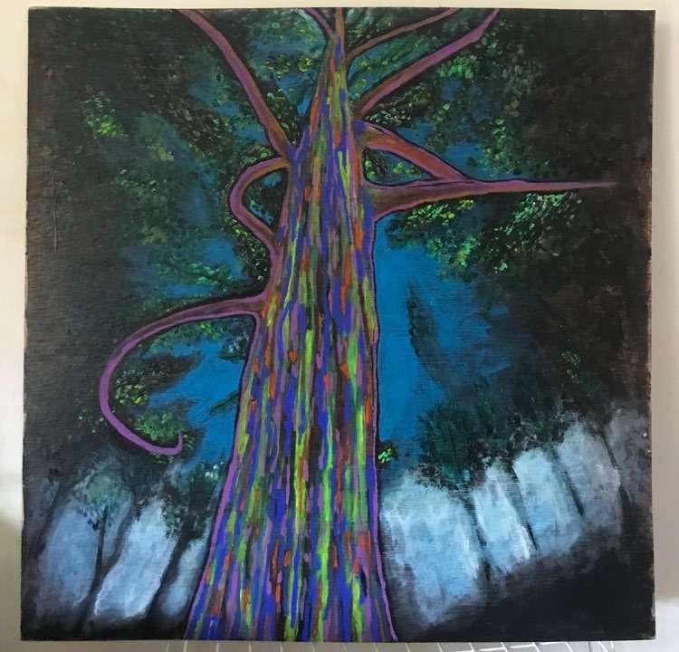 arbre magique par Jû