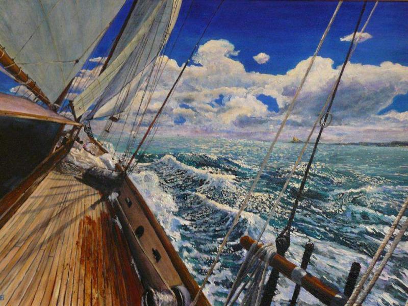 Au large de la Corse par Erick Millet