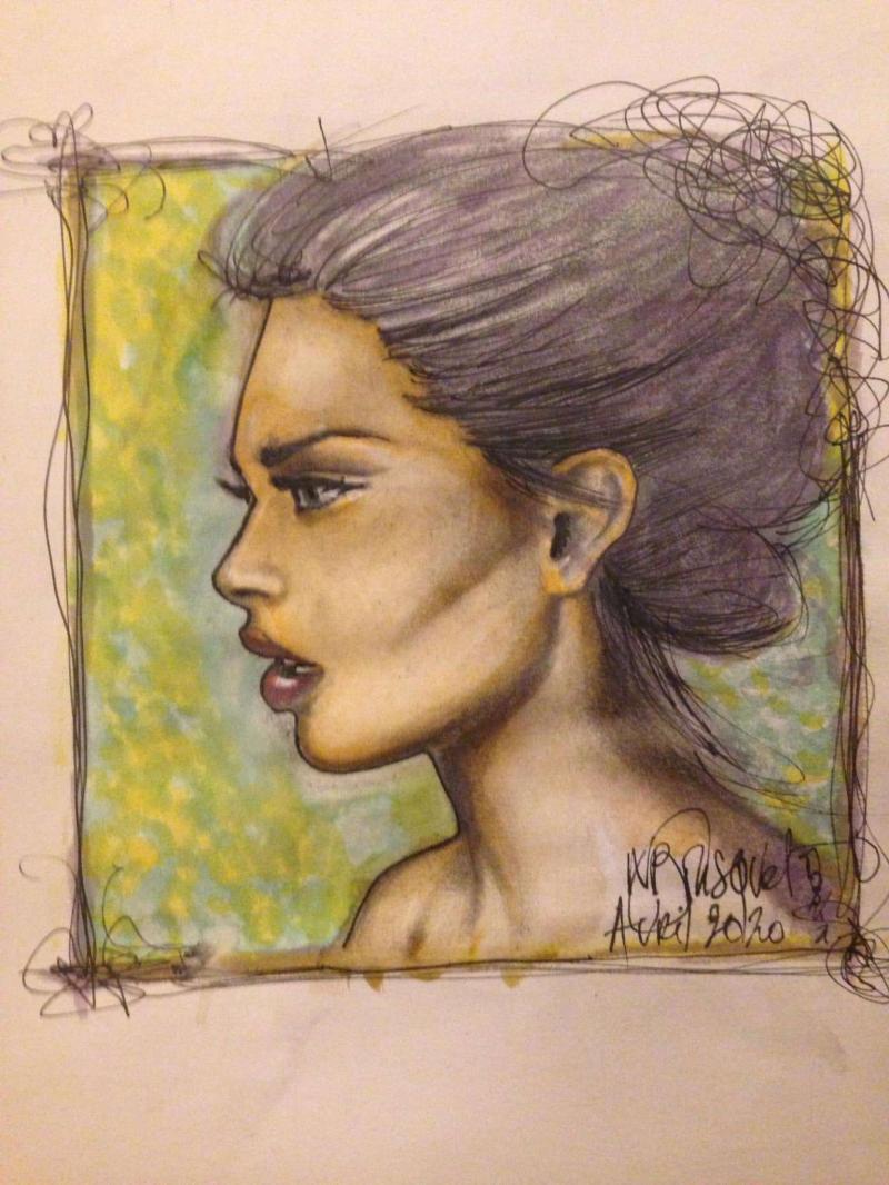 Regard d'une femme qui ne veut plus voir....par Nicole Bousquet