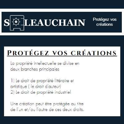 Soleauchain - Protégez vos créations