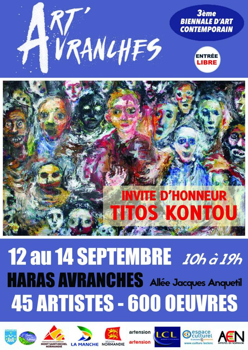 Biennale d'art contemporain Art'Avranches (dpt 50)