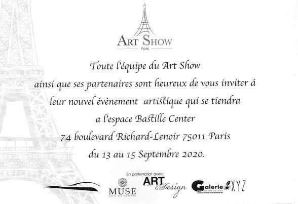 Exposition d'Anne-Marie Vincent à Paris