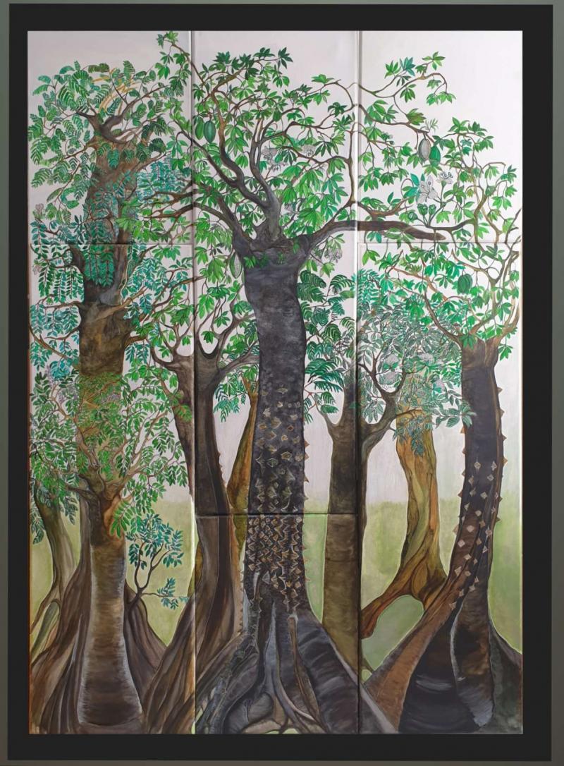 LE POUMON AFRICAIN par Sophie LE VAN GONG