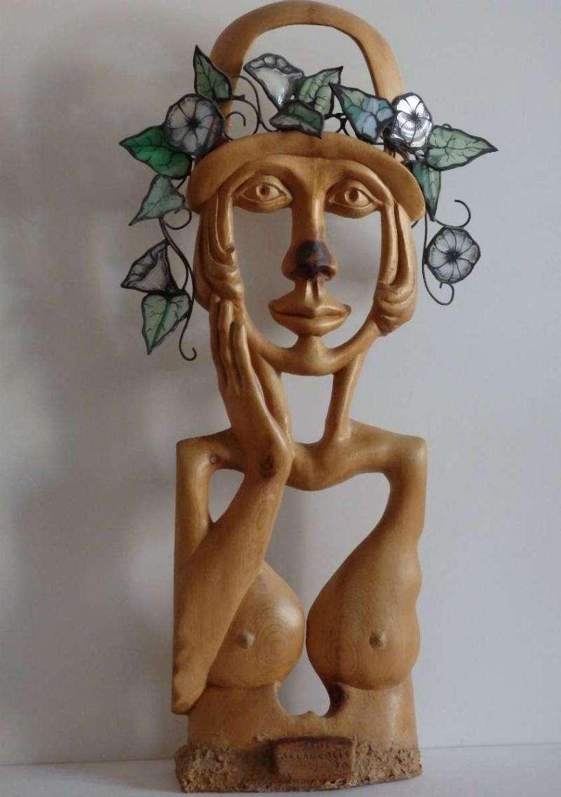Dame mélancolie, sculpture par Jo Mermet