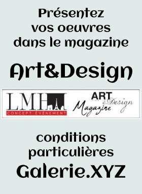 Tarifs préférentiels pour parution Magazine et Expositions Art&Design