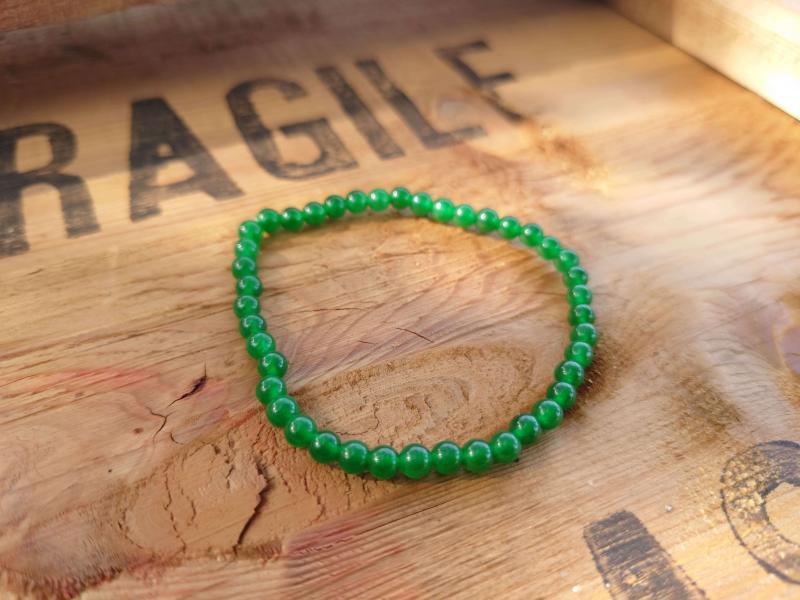Bracelet en Jade foncé